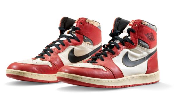 Las zapatillas de Michael Jordan vendidas por 615.000 dólares - Sputnik Mundo