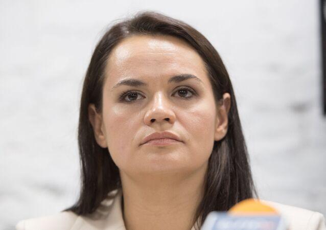 Svetlana Tijanóvskaya, candidata opositora a la presidencia de Bielorrusia