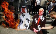 Protestas contra el acuerdo de paz entre Israel y Emiratos Árabes Unidos