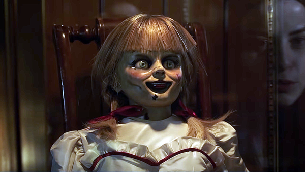 La muñeca Annabelle, captura de pantalla - Sputnik Mundo