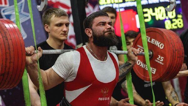 Alexandr Sedíj, levantador de pesas ruso - Sputnik Mundo