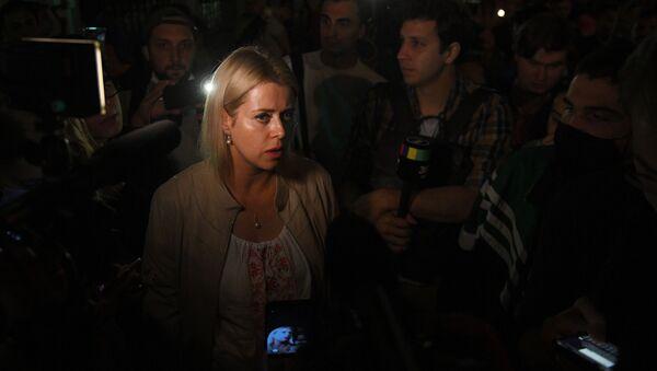 Veronica Tsepkalo, la esposa del político opositor bielorruso Valeri Tsepkalo - Sputnik Mundo