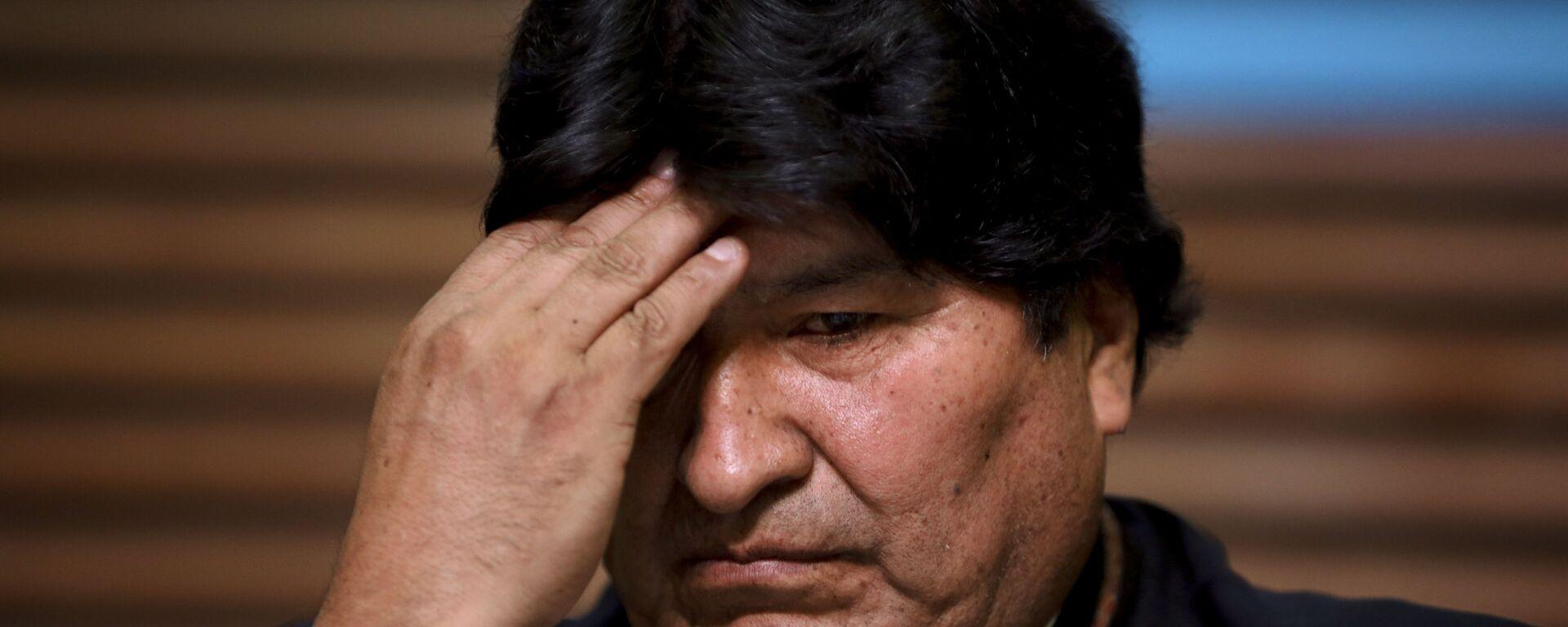 Evo Morales, expresidente de Bolivia - Sputnik Mundo, 1920, 09.07.2021