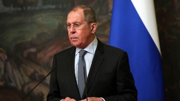 Serguéi Lavrov, el ministro de Exteriores de Rusia - Sputnik Mundo