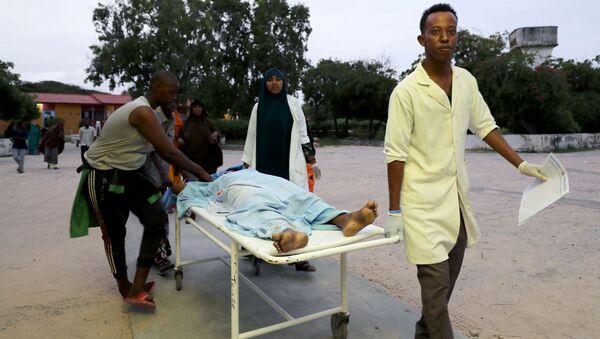 Un herido tras el ataque a Elite Hotel en Mogadiscio, Somalia - Sputnik Mundo