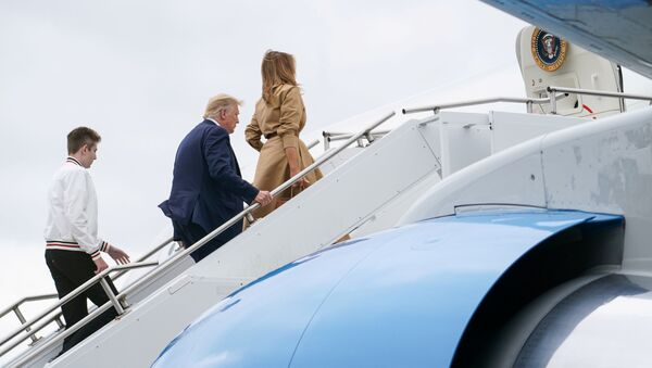 Donald y Melania Trump - Sputnik Mundo