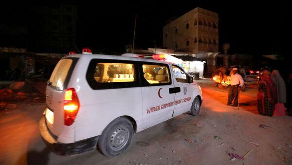 Una ambulancia en Somalia - Sputnik Mundo