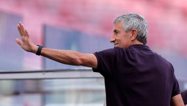 Quique Setién, entrenador del FC Barcelona - Sputnik Mundo