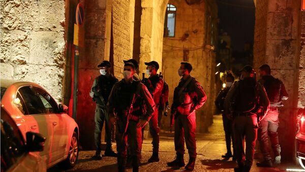 La Policía en Jerusalén - Sputnik Mundo