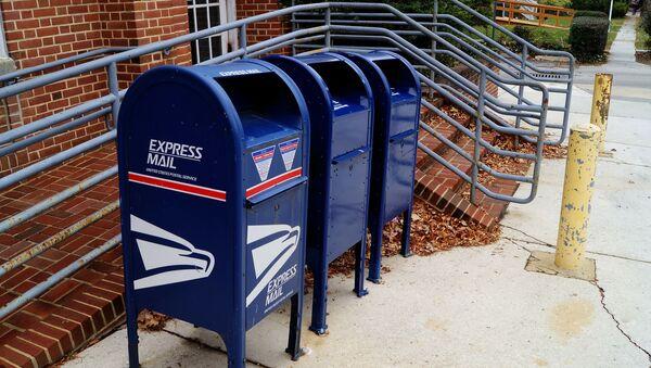 Buzones del Servicio postal de EEUU - Sputnik Mundo