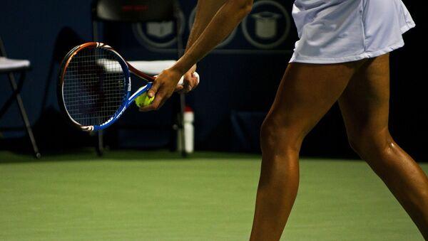 Una tenista (imagen referencial) - Sputnik Mundo