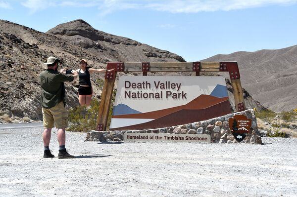 Un calor que te mueres: registran un nuevo récord de temperatura en el Valle de la Muerte   - Sputnik Mundo