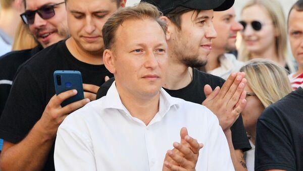 Andréi Dmítriev, candidato presidencial bielorruso - Sputnik Mundo
