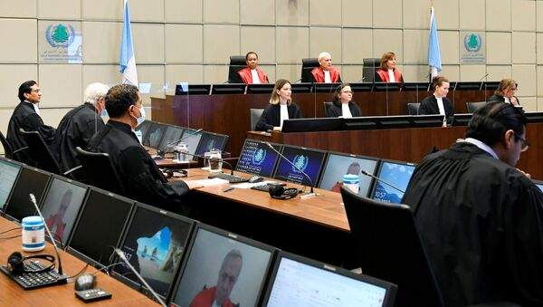 La sesión del Tribunal Especial de La Haya sobre el asesinato al ex primer ministro libanés Rafik Hariri - Sputnik Mundo