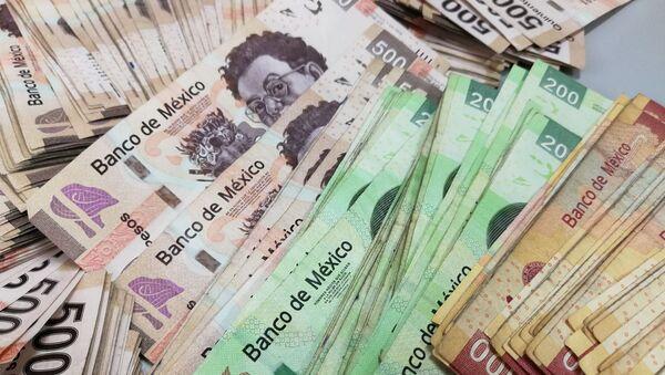 Pesos mexicanos (archivo) - Sputnik Mundo