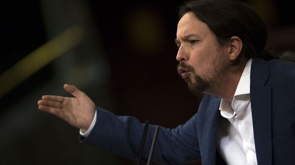 Pablo Iglesias, vicepresidente de España y secretario general de Podemos - Sputnik Mundo