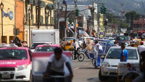 Las calles de la Ciudad de México en tiempos de la pandemia - Sputnik Mundo