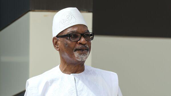 El presidente de Malí, Ibrahim Boubacar Keita - Sputnik Mundo