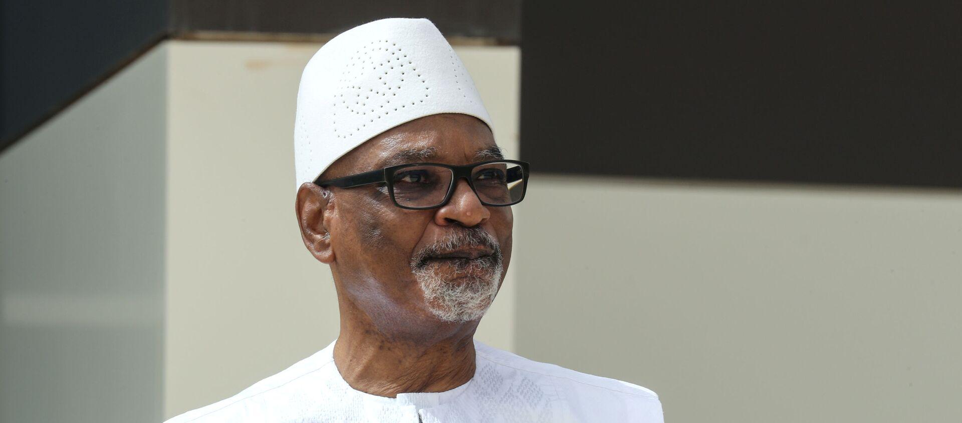 El presidente de Malí, Ibrahim Boubacar Keita - Sputnik Mundo, 1920, 18.08.2020