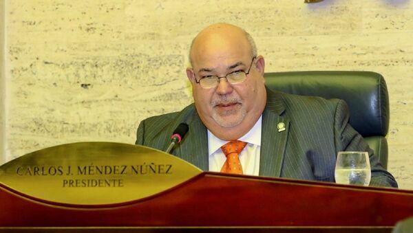 Carlos 'Johnny' Méndez, presidente de la Cámara de Representantes de Puerto Rico - Sputnik Mundo