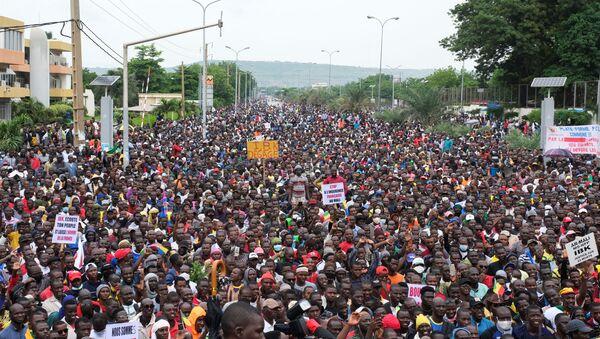 Protestas en Bamako, Malí - Sputnik Mundo
