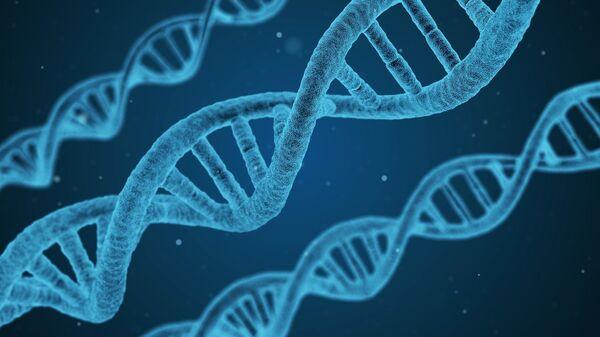 Cadenas de ADN (ilustración) - Sputnik Mundo