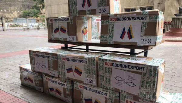 Rusia entrega a Venezuela 450 kits de pruebas para COVID-19 - Sputnik Mundo