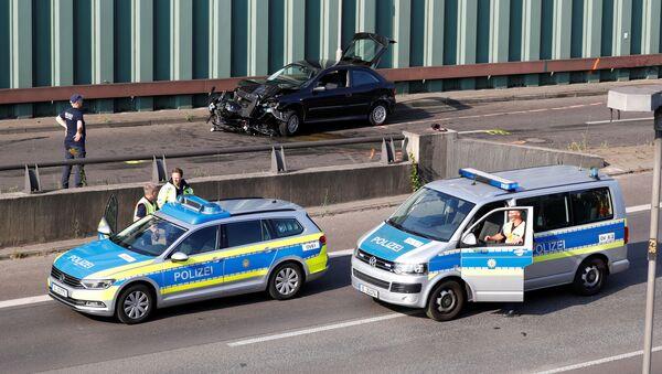 Serie de accidentes de tráfico en Berlín, Alemania - Sputnik Mundo