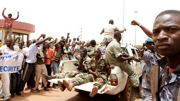 Militares en Malí (archivo) - Sputnik Mundo