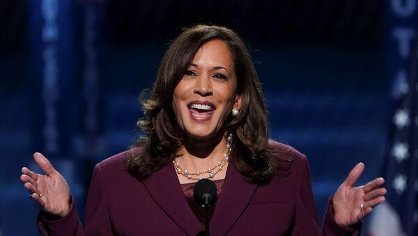 Kamala Harris,  candidata a la vicepresidencia de EEUU por el Partido Demócrata - Sputnik Mundo