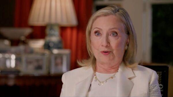Hillary Clinton, exsecretaria de Estado de EEUU - Sputnik Mundo