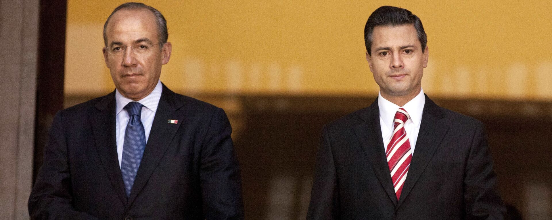 Felipe Calderón Hinojosa y Enrique Peña Nieto, expresidentes de México - Sputnik Mundo, 1920, 17.08.2021