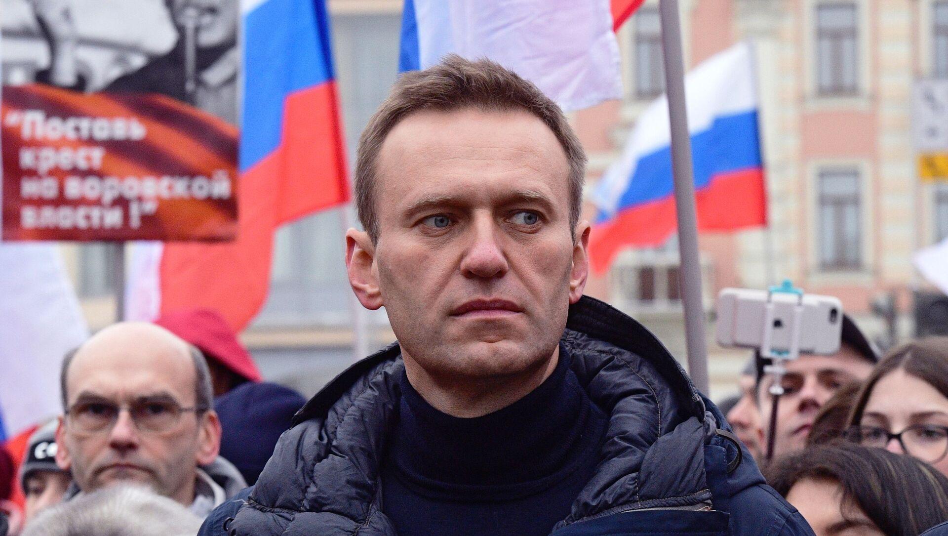 Alexéi Navalni, activista opositor ruso (archivo) - Sputnik Mundo, 1920, 31.01.2021