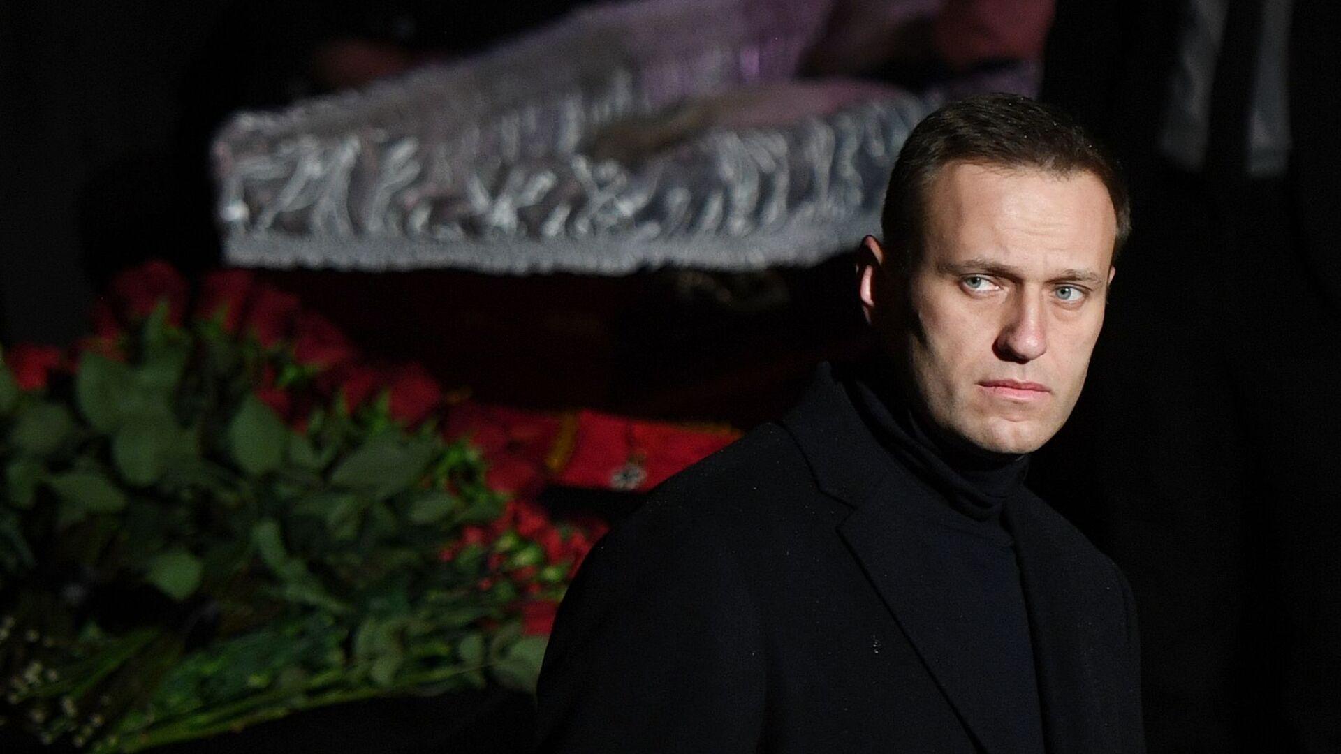Alexéi Navalni, activista opositor ruso (archivo) - Sputnik Mundo, 1920, 18.04.2021