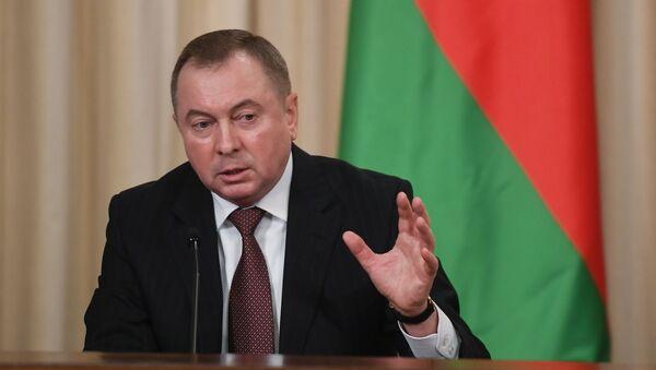 Vladímir Makéi, ministro de Exteriores de Bielorrusia - Sputnik Mundo