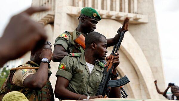 Militares en Malí - Sputnik Mundo