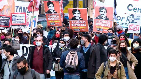 Protestas multitudinarias en Buenos Aires exigen esclarecer el caso de un joven desaparecido - Sputnik Mundo