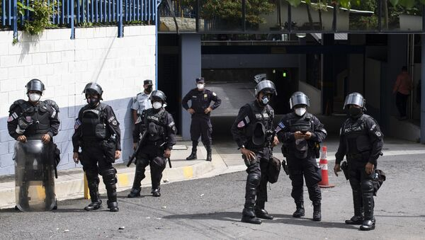 Policía de El Salvador - Sputnik Mundo
