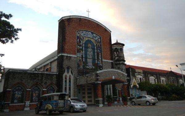 Iglesia Santa Monica Parish (Pampanga) - Sputnik Mundo