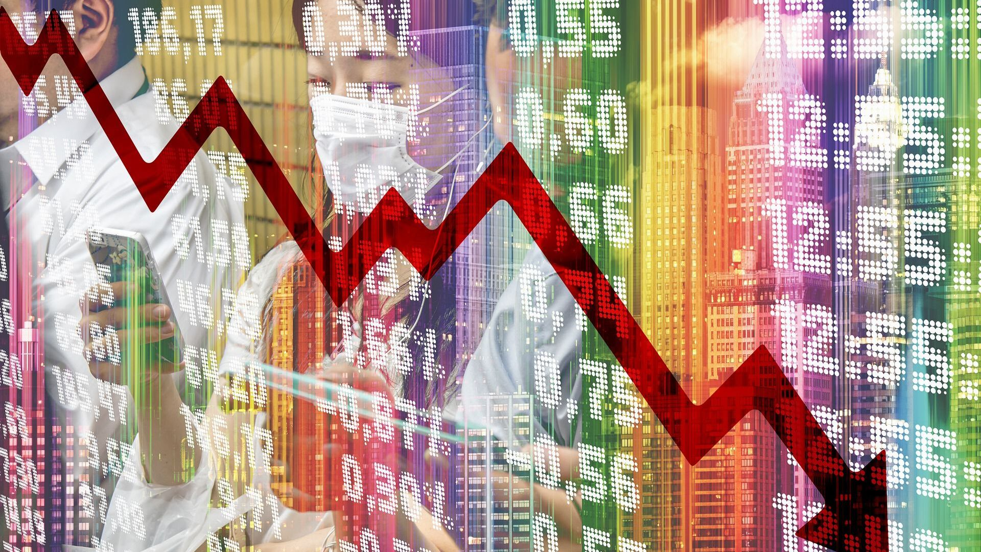Crisis económica (imagen referencial) - Sputnik Mundo, 1920, 14.09.2020