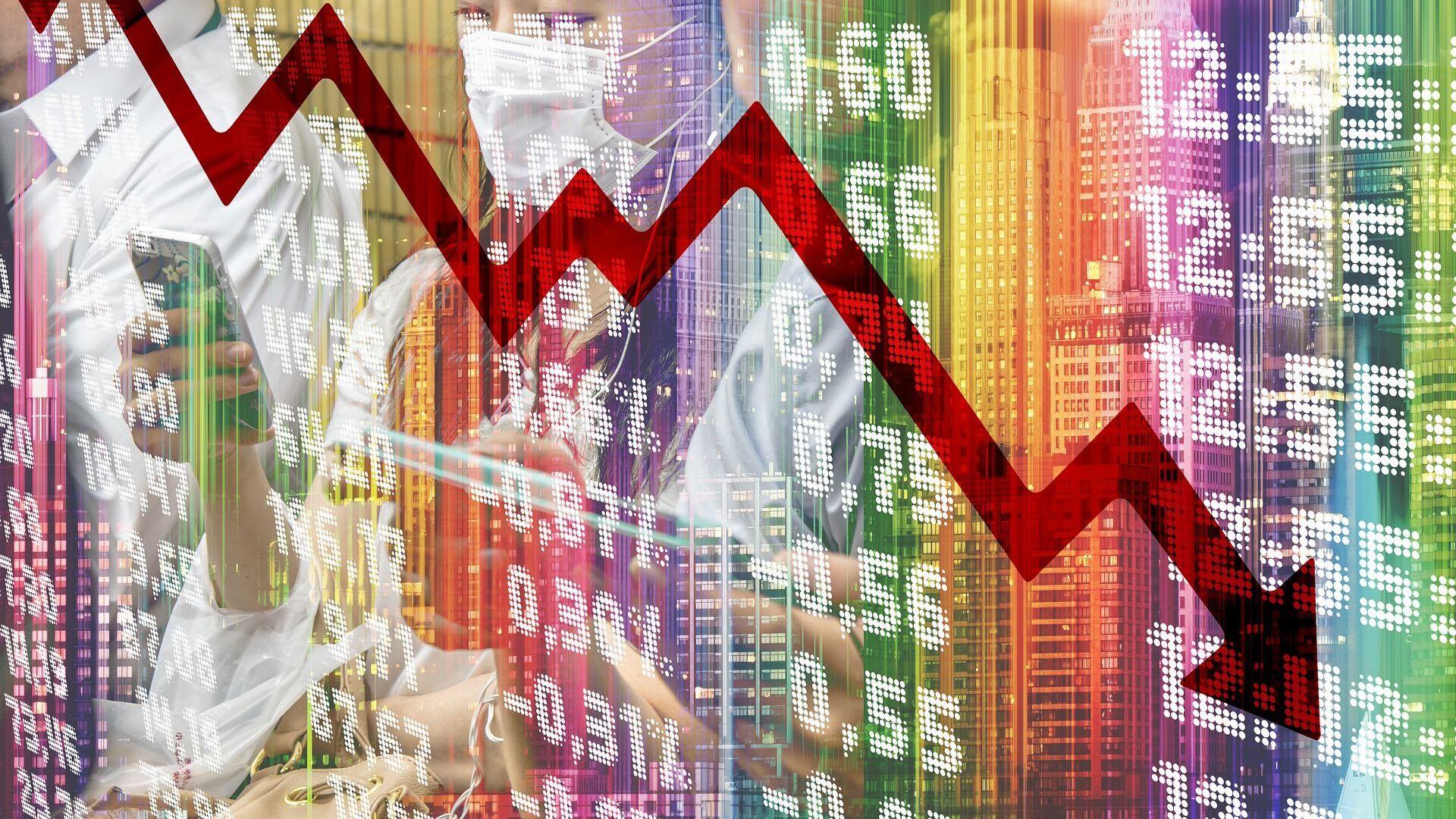 Crisis económica (imagen referencial) - Sputnik Mundo, 1920, 22.12.2020