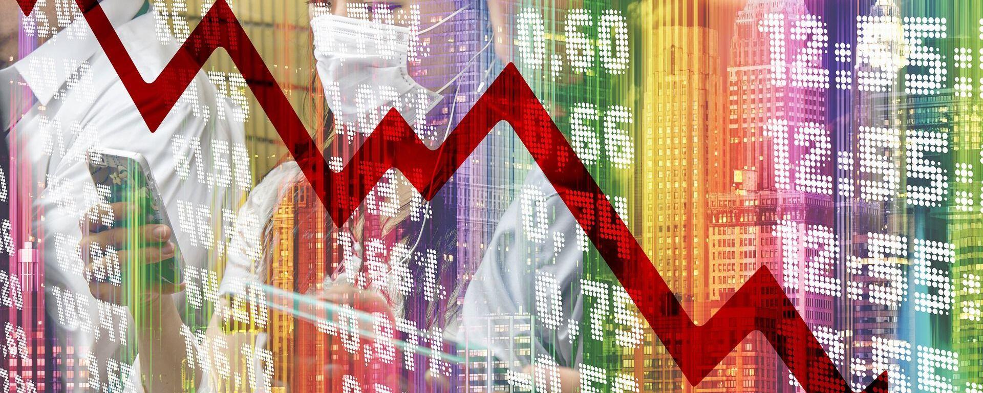 Crisis económica (imagen referencial) - Sputnik Mundo, 1920, 01.06.2021