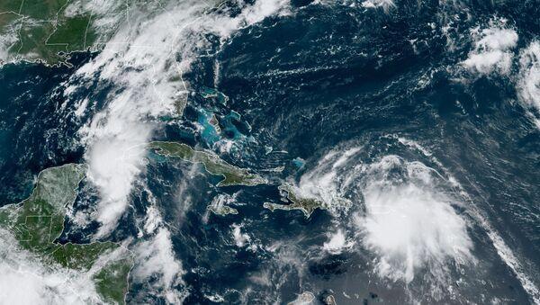 La tormenta tropical Laura - Sputnik Mundo