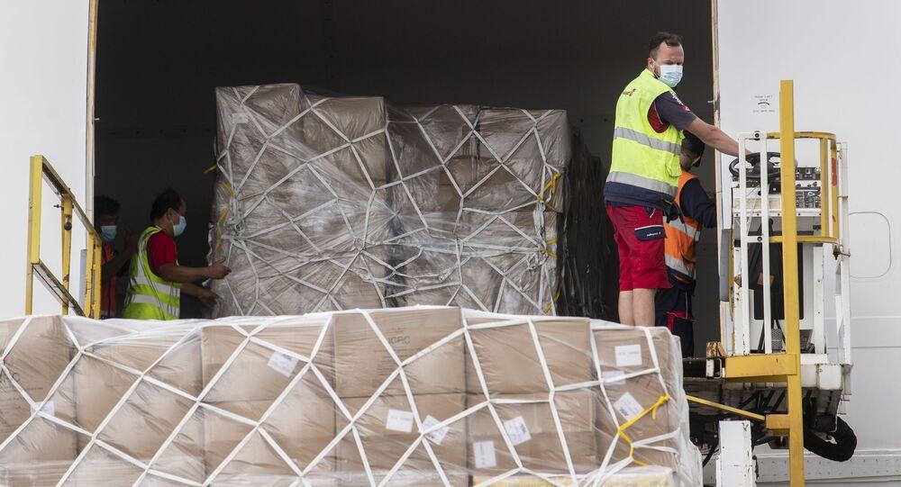 Cargamento de ayuda humanitaria llegó a Venezuela elsiglocomve