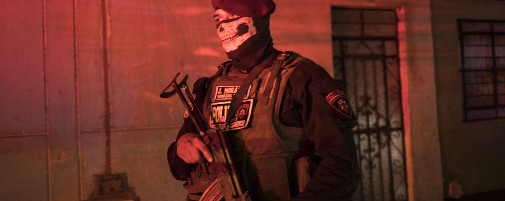 Un oficial de la Policía Nacional peruana - Sputnik Mundo, 1920, 15.07.2021