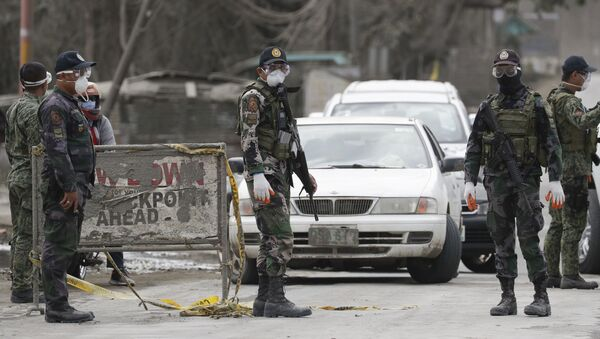 Agentes de Policía de Filipinas - Sputnik Mundo