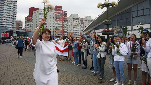 Olga Kovalkova, miembro del opositor Consejo de Coordinación en Bielorrusia - Sputnik Mundo