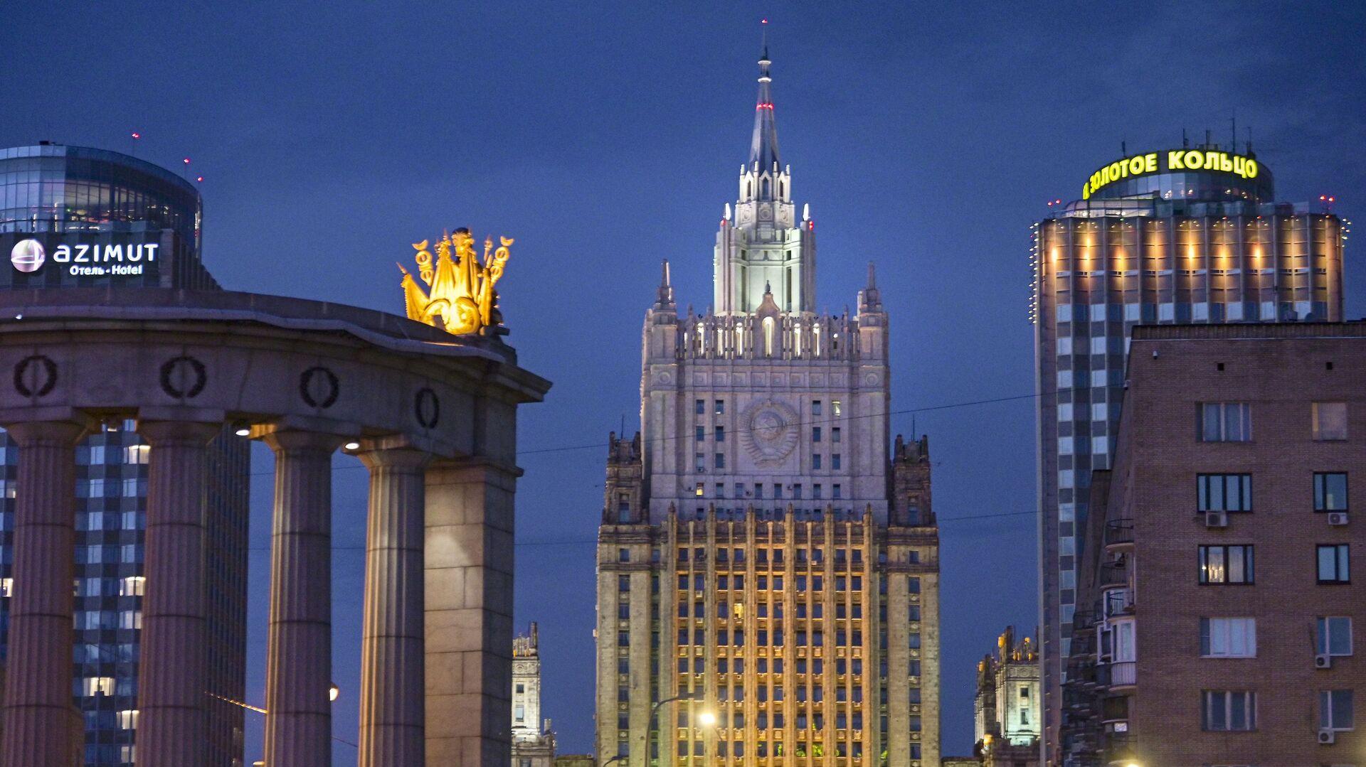 El Ministerio de Asuntos Exteriores de Rusia - Sputnik Mundo, 1920, 26.02.2021