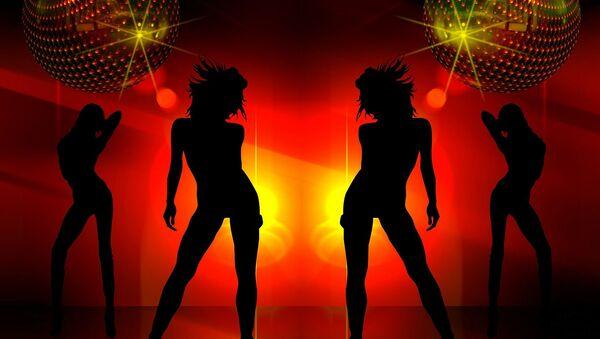 Imagen referencial de un club nocturno - Sputnik Mundo