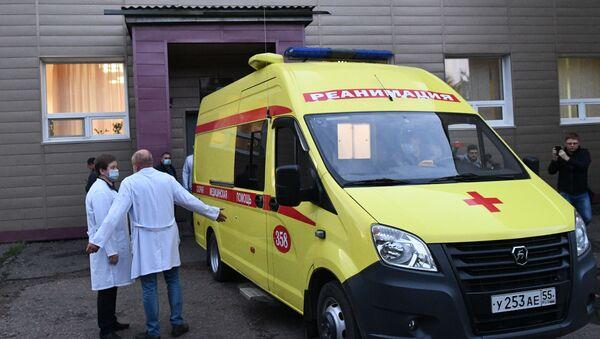 El hospital en Omsk donde estuvo el opositor ruso Alexéi Navalni - Sputnik Mundo
